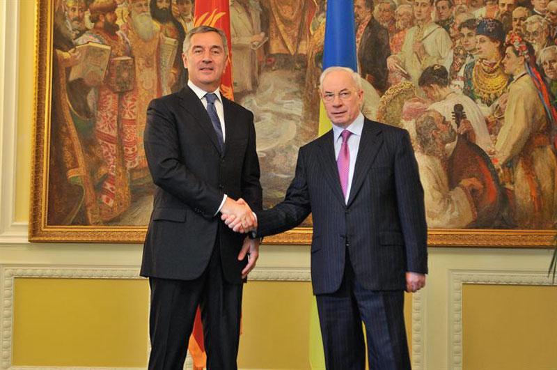 Перший офіційний візит Прем'єр-міністра Чорногорії Міло Джукановича в Україну